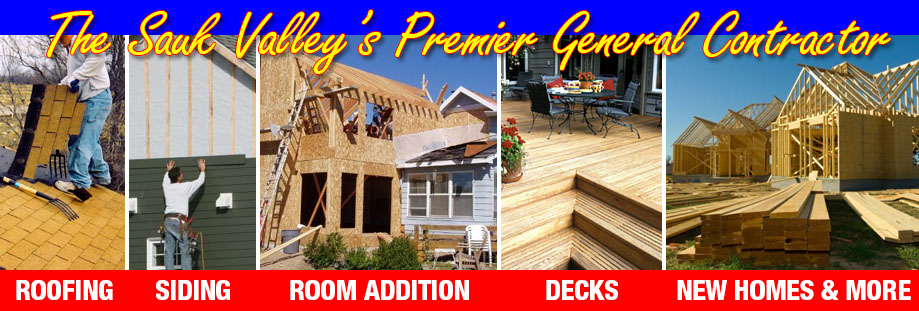 The Sauk Valley's Premier General Contractor.  Contact Don Conklen Construction at 815-625-4613